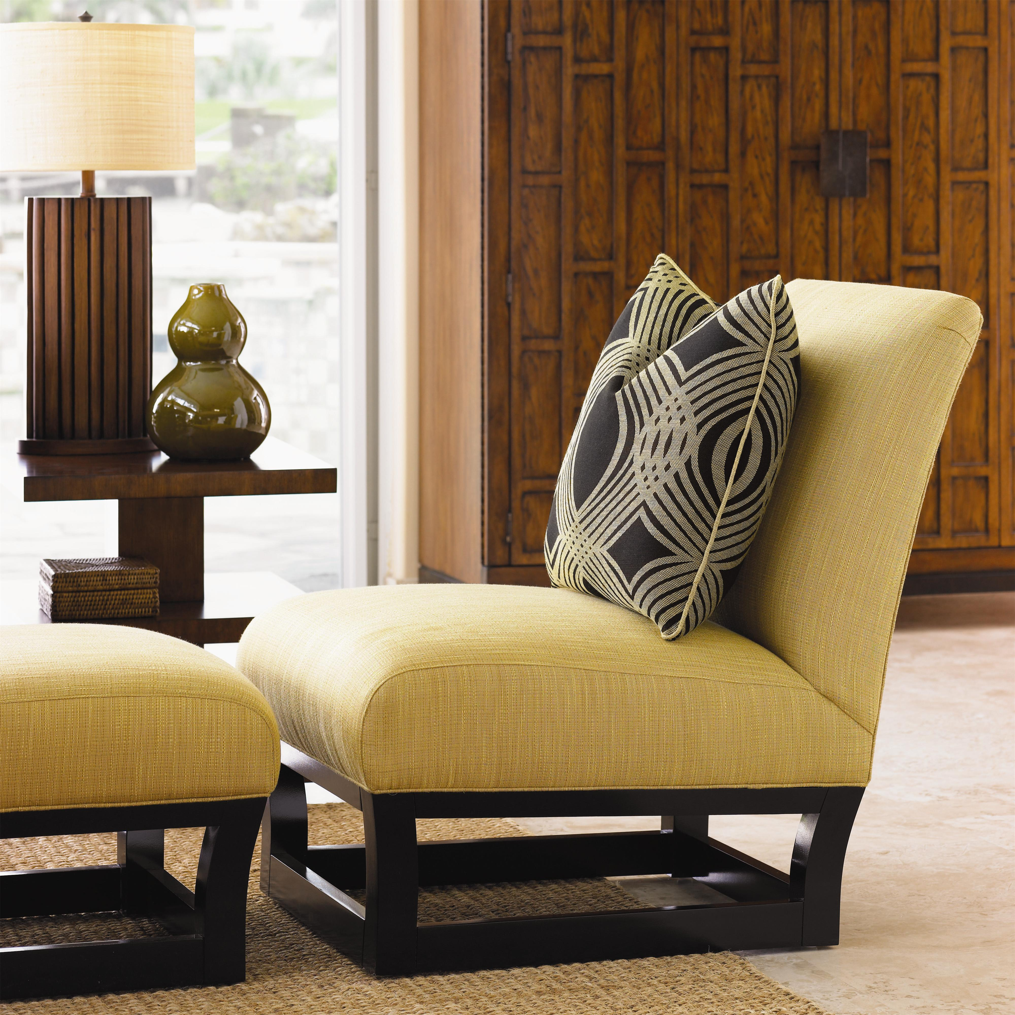 Ocean Club Fusion Chair & Ottoman by Tommy Bahama Home at Baer's Furniture