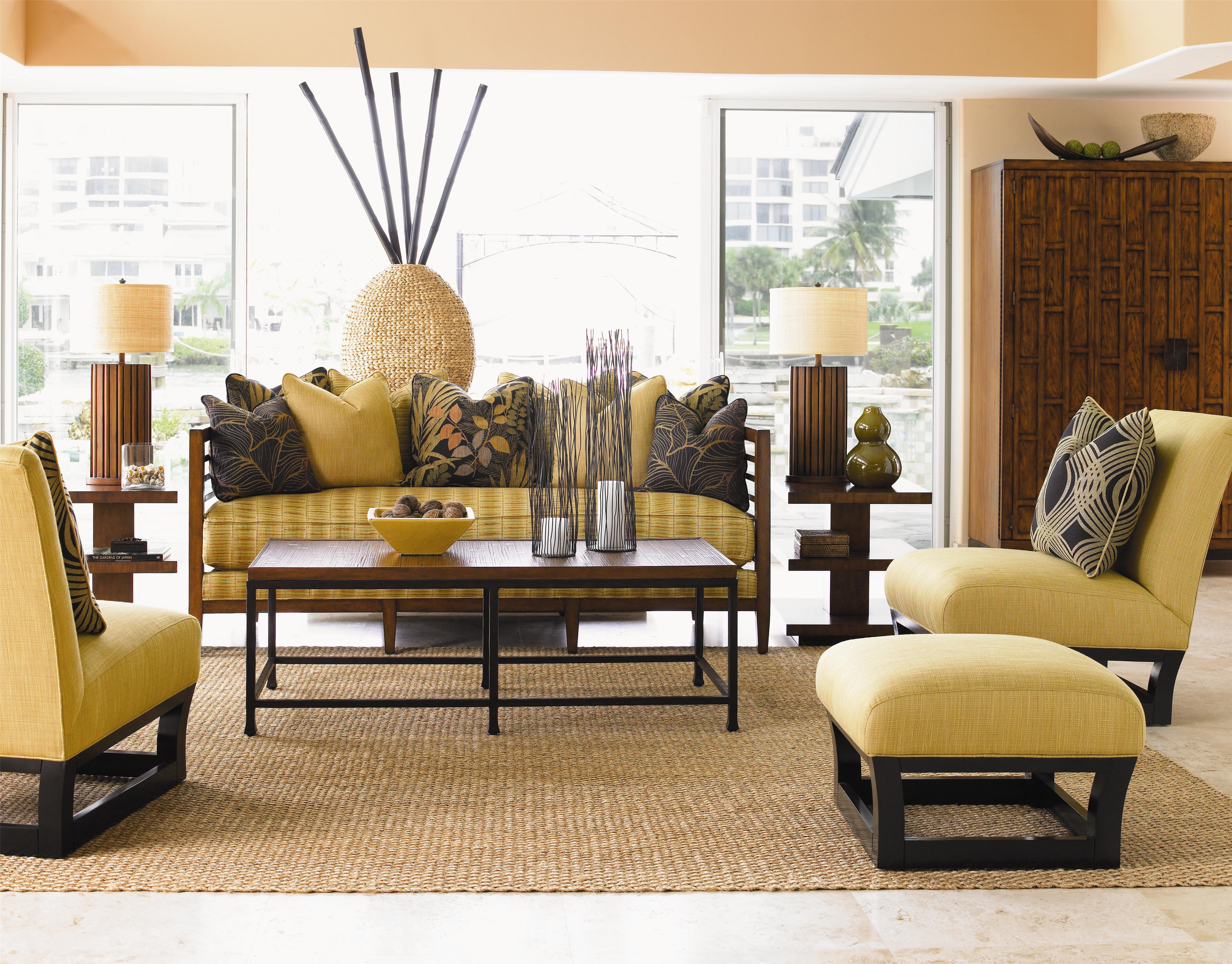 Tommy Bahama Home Ocean Club 1523 11 Armless Fusion Chair