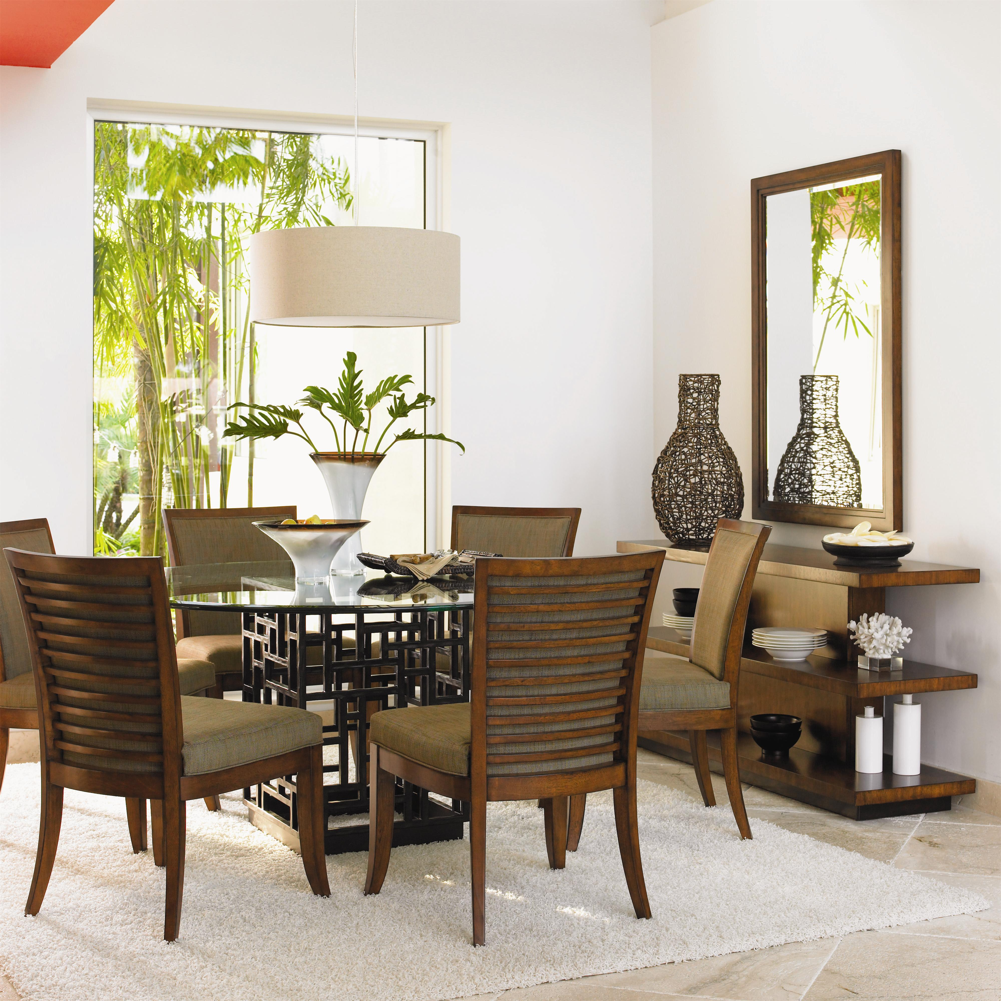 Ocean Club 7 Piece Table & Chair Set by Tommy Bahama Home at Baer's Furniture