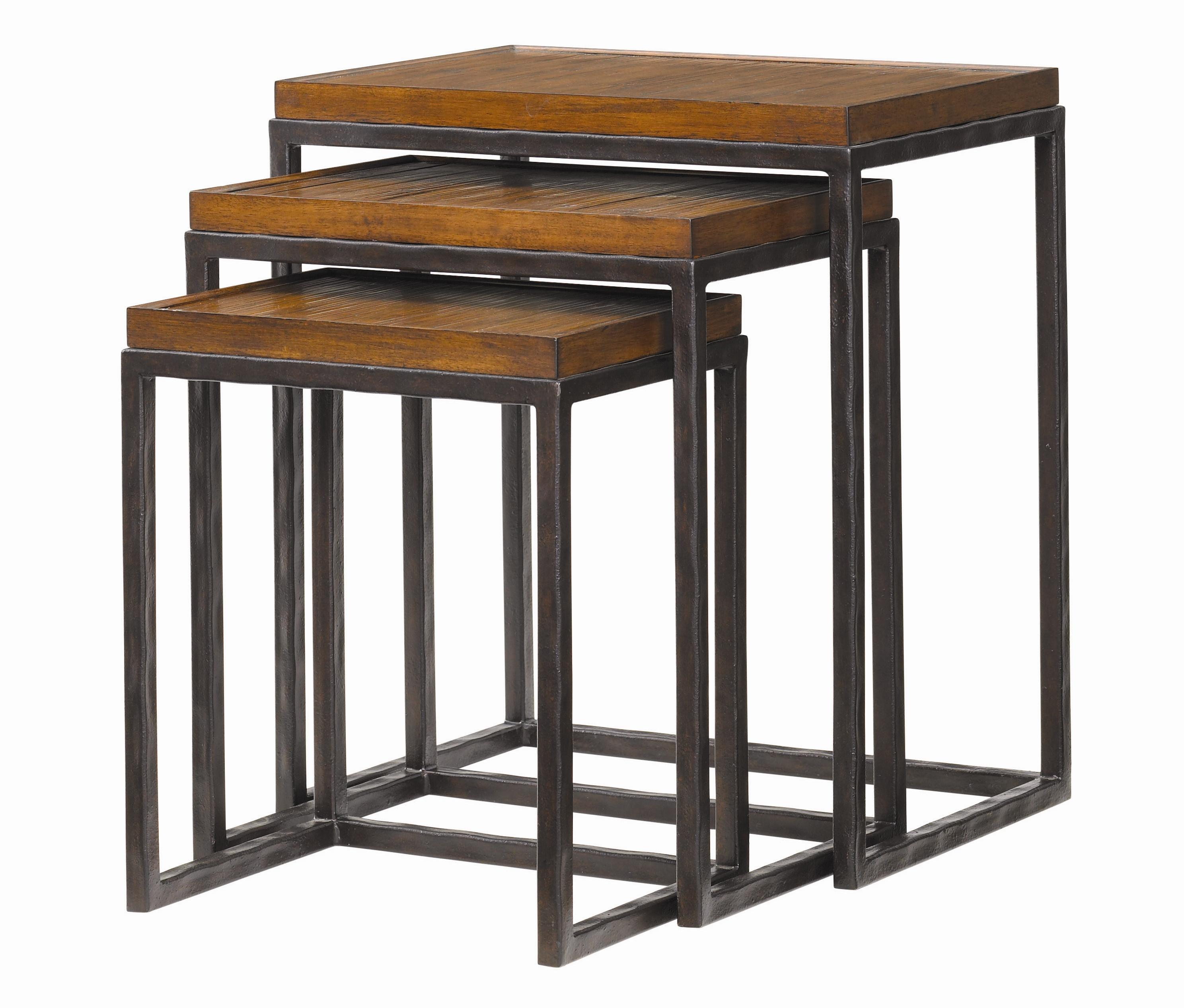 Ocean Club Ocean Reef Nesting Tables by Tommy Bahama Home at Baer's Furniture