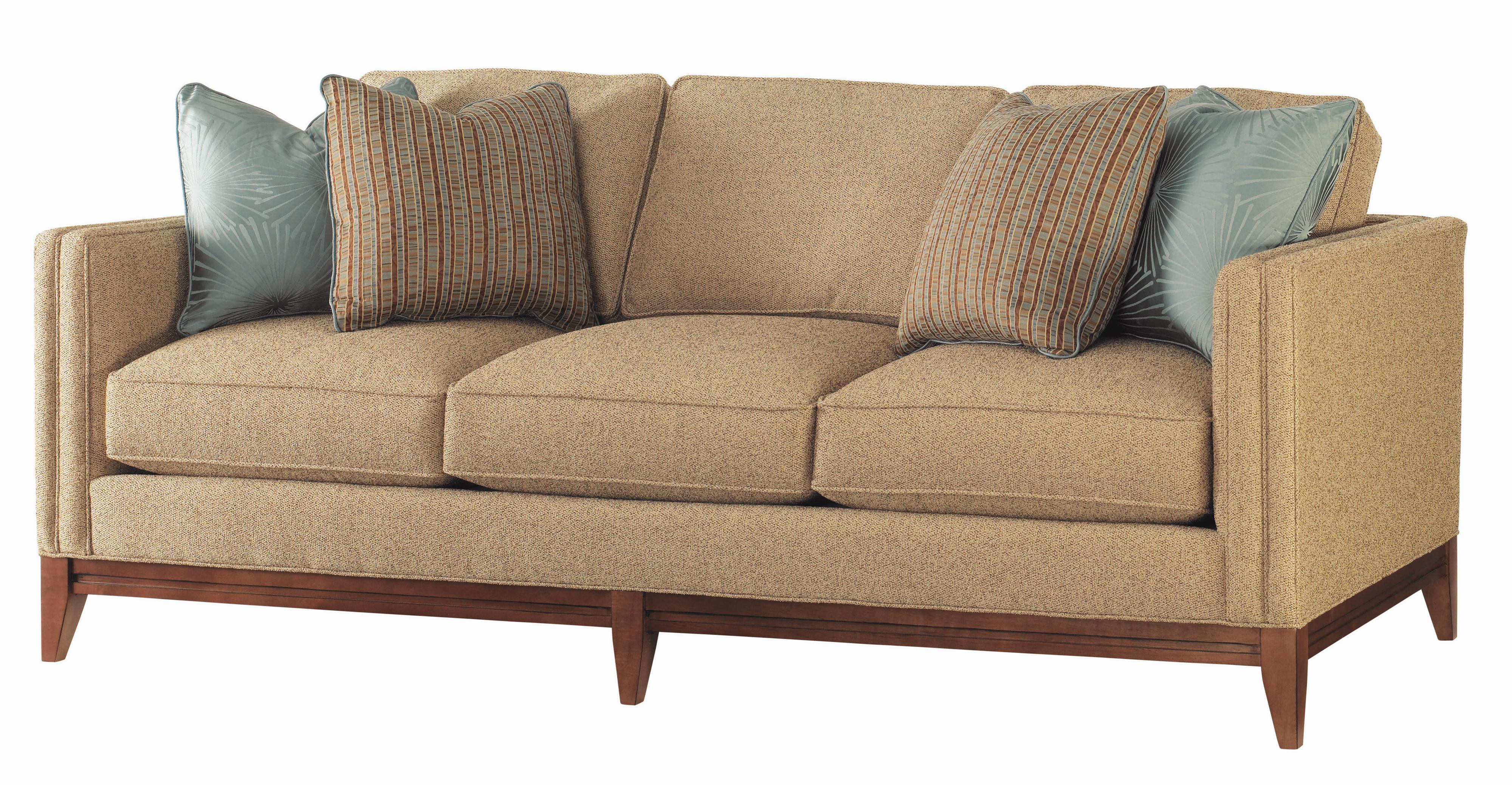 Tommy Bahama Home Ocean Club Ladera Sofa With Exposed Wood