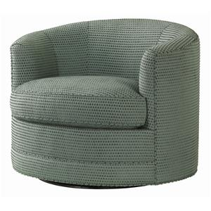 Tommy Bahama Home Ocean Club Kava Swivel Chair