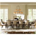 Lexington Tower Place 11 Piece Dining Set with Host Chairs - Item Number: 706-872+8X882-494111+2X884