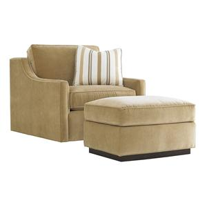 Lexington Tower Place Bartlett Chair and Ottoman