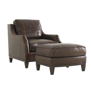 Lexington Tower Place Conrad Chair and Ottoman