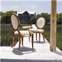Lexington Twilight Bay <b>Customizable</b> Byerly Oval Back Side Chair - Shown with Byerly Arm Chair