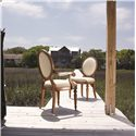 Lexington Twilight Bay <b>Customizable</b> Byerly Oval Back Arm Chair - Shown with Byerly Side Chair