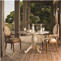 Lexington Twilight Bay <b>Customizable</b> Byerly Oval Back Arm Chair - Dining Table No Longer Available from Manufacturer