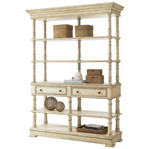 Lexington Twilight Bay Merideth Console & Hutch