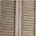 Lexington Twilight Bay Hartley Cabinet - Beautiful Full-Length Louvered Doors