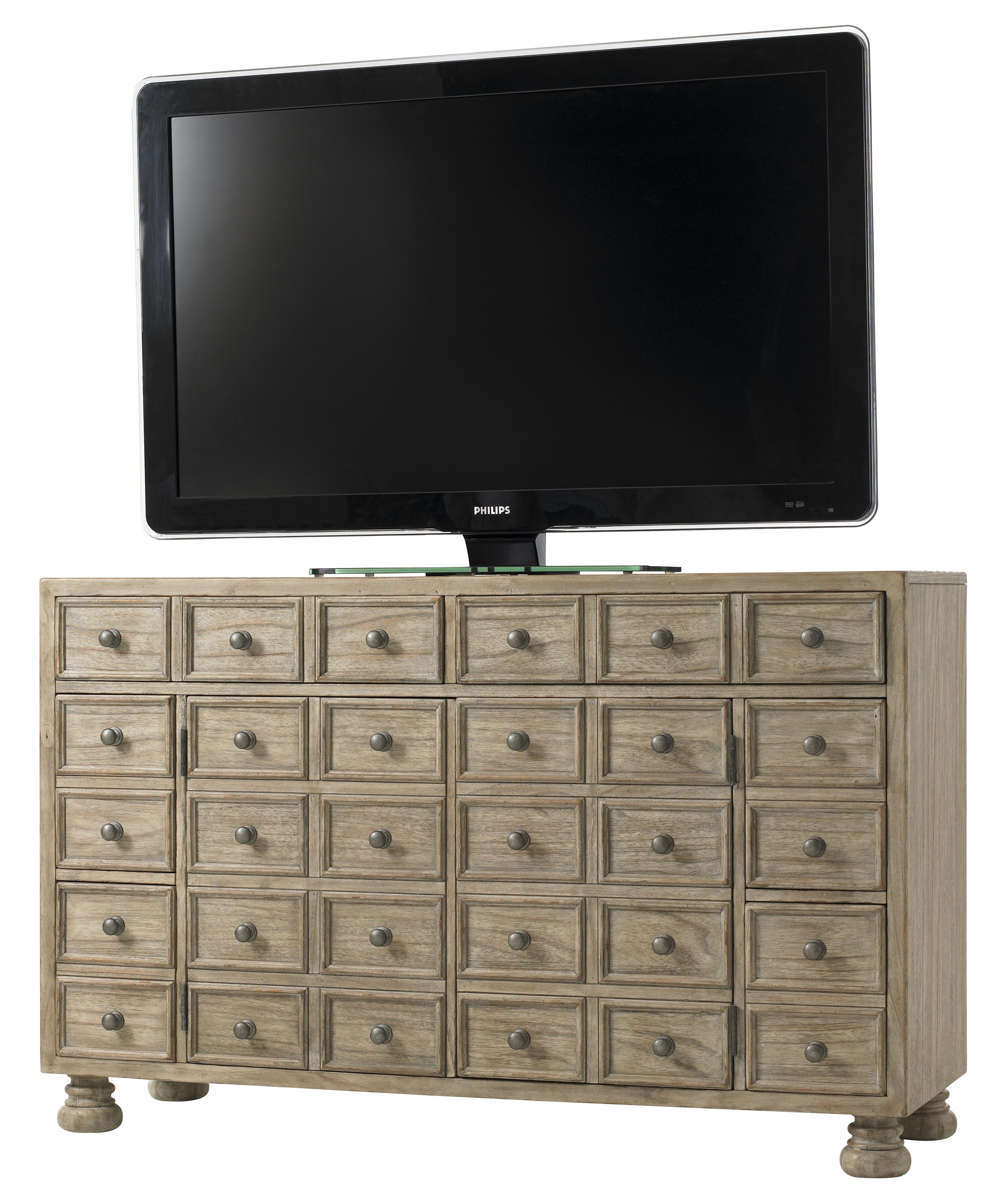 Twilight Bay Andrews Entertainment Console by Lexington at Baer's Furniture