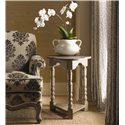 Lexington Twilight Bay Bailey Chairside Table - Shown with Abbey Chair