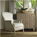 Lexington Twilight Bay Halsey Bunching Chest - Shown with Julianna Chair