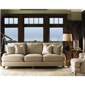 Lexington Twilight Bay Carley Sofa - Shown with Keaton End Table and Abbey Chair