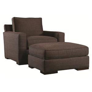 Lexington Urban Spaces - Bond Chair and Ottoman