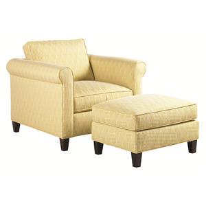 Lexington Urban Spaces - Conran Chair and Ottoman