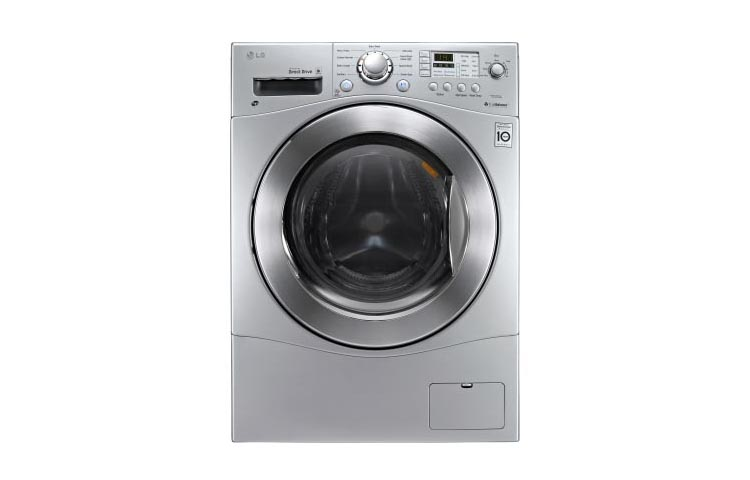 LG Appliances All-In-One Washer and Dryer 2.3 Cu. Ft. Washer Dryer Combo - Item Number: WM3477HS