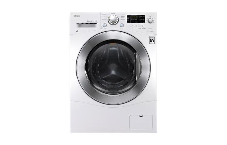 LG Appliances White Combo 2.3 Cu. Ft. Washer Dryer Combo - Item Number: WM3477HW