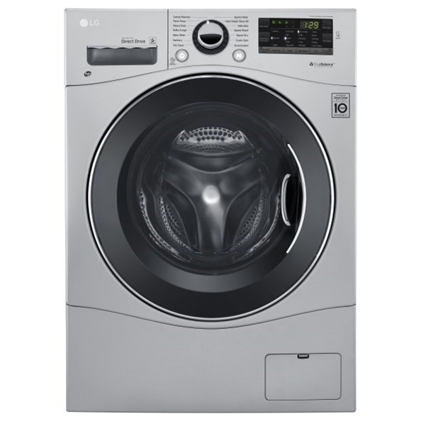 LG Appliances All-In-One Washer and Dryer 2.3 cu.ft. Compact All-In-One Washer/Dryer - Item Number: WM3488HS