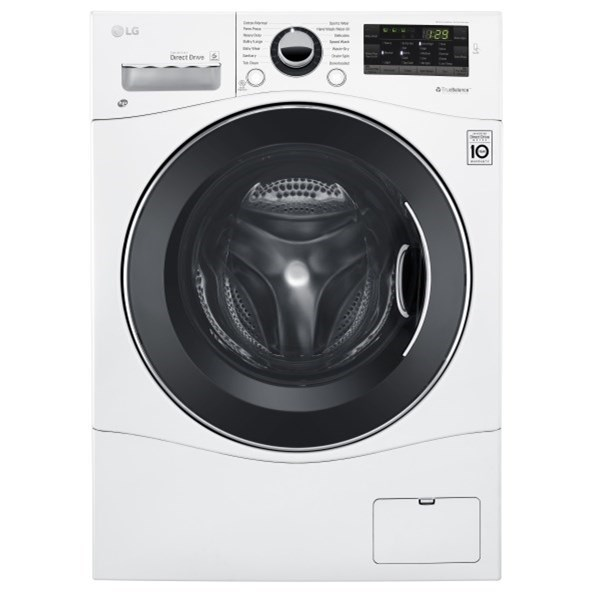 LG Appliances All-In-One Washer and Dryer 2.3 cu.ft. Compact All-In-One Washer/Dryer - Item Number: WM3488HW