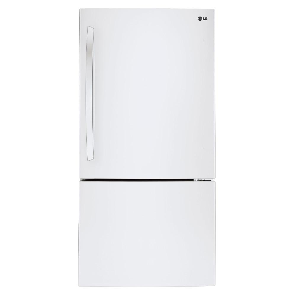 LG Appliances Bottom Freezer Refrigerators 22.4 Cu. Ft. Bottom Freezer Refrigerator - Item Number: LBC24360SW