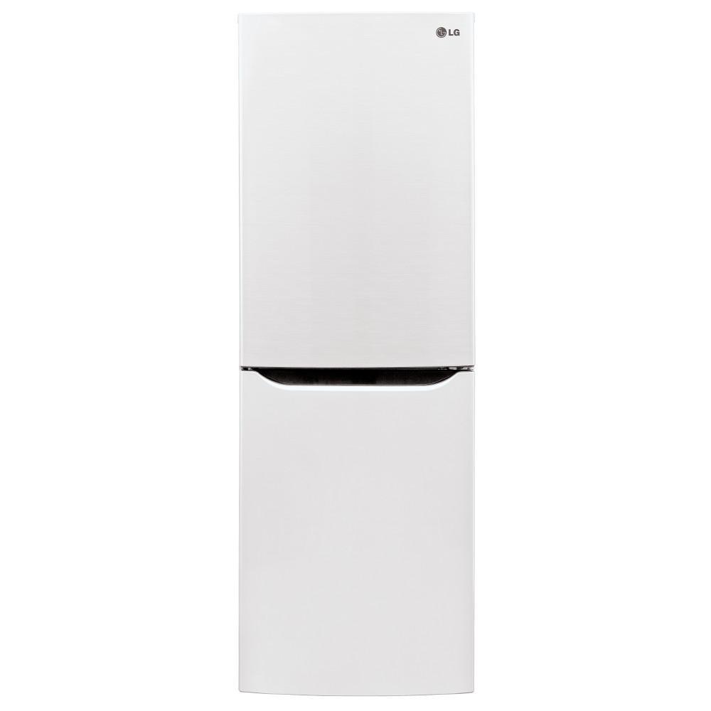 LG Appliances Bottom Freezer Refrigerators 10.1 Cu. Ft. Bottom Freezer Refrigerator - Item Number: LBN10551SW