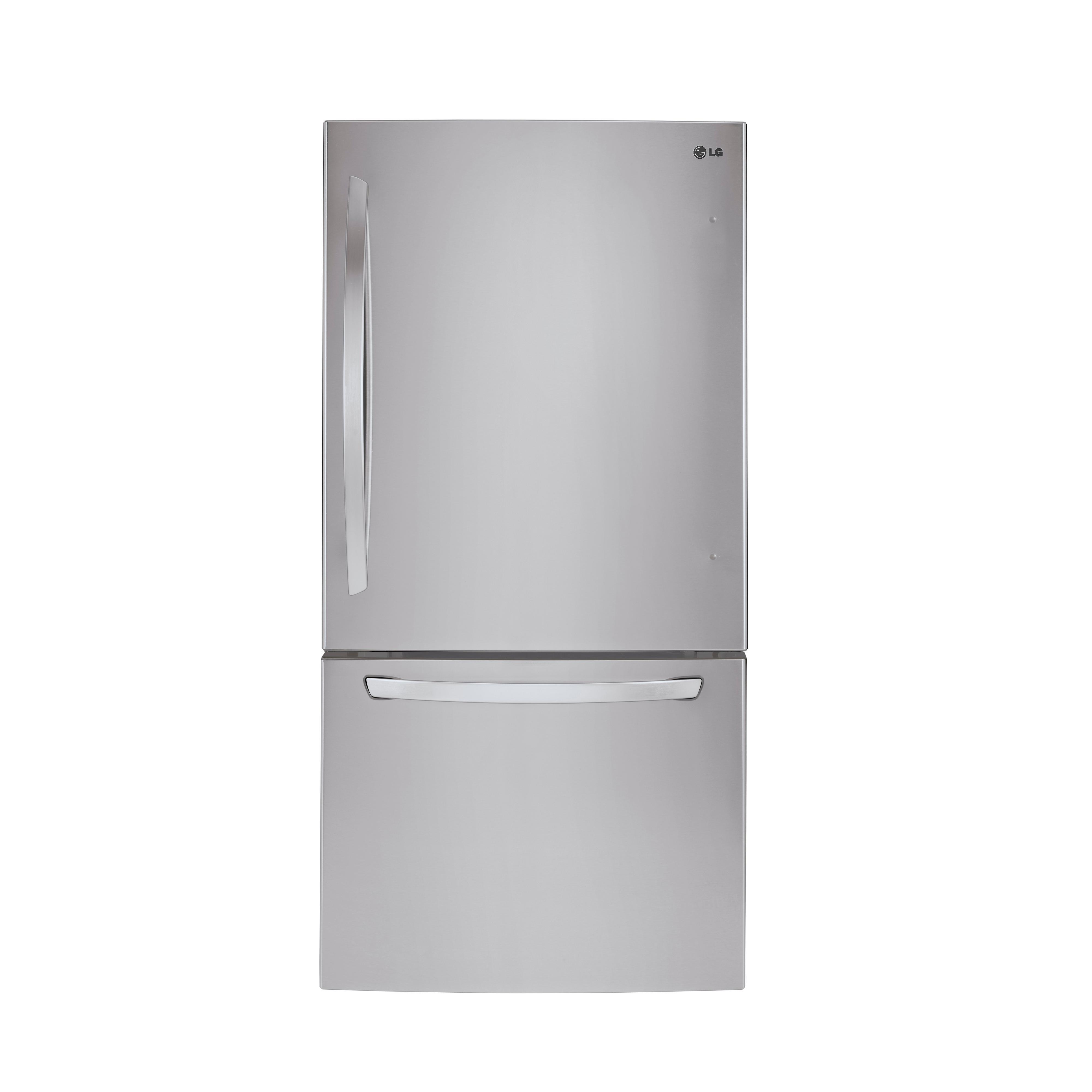 LG Appliances Bottom Freezer Refrigerators LARGE CAPACITY BOTTOM FREEZER REFRIGERATOR - Item Number: LDC24370ST