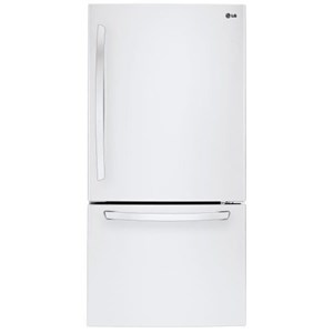 LG Appliances Bottom Freezer Refrigerators 22 cu. ft. Bottom Freezer Refrigerator