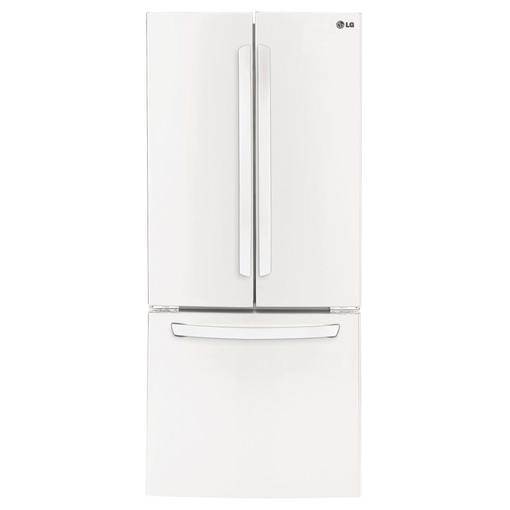 LG Appliances Bottom Freezer Refrigerators 28 Cu.Ft. Large Capacity Refrigerator - Item Number: LFC22770SW