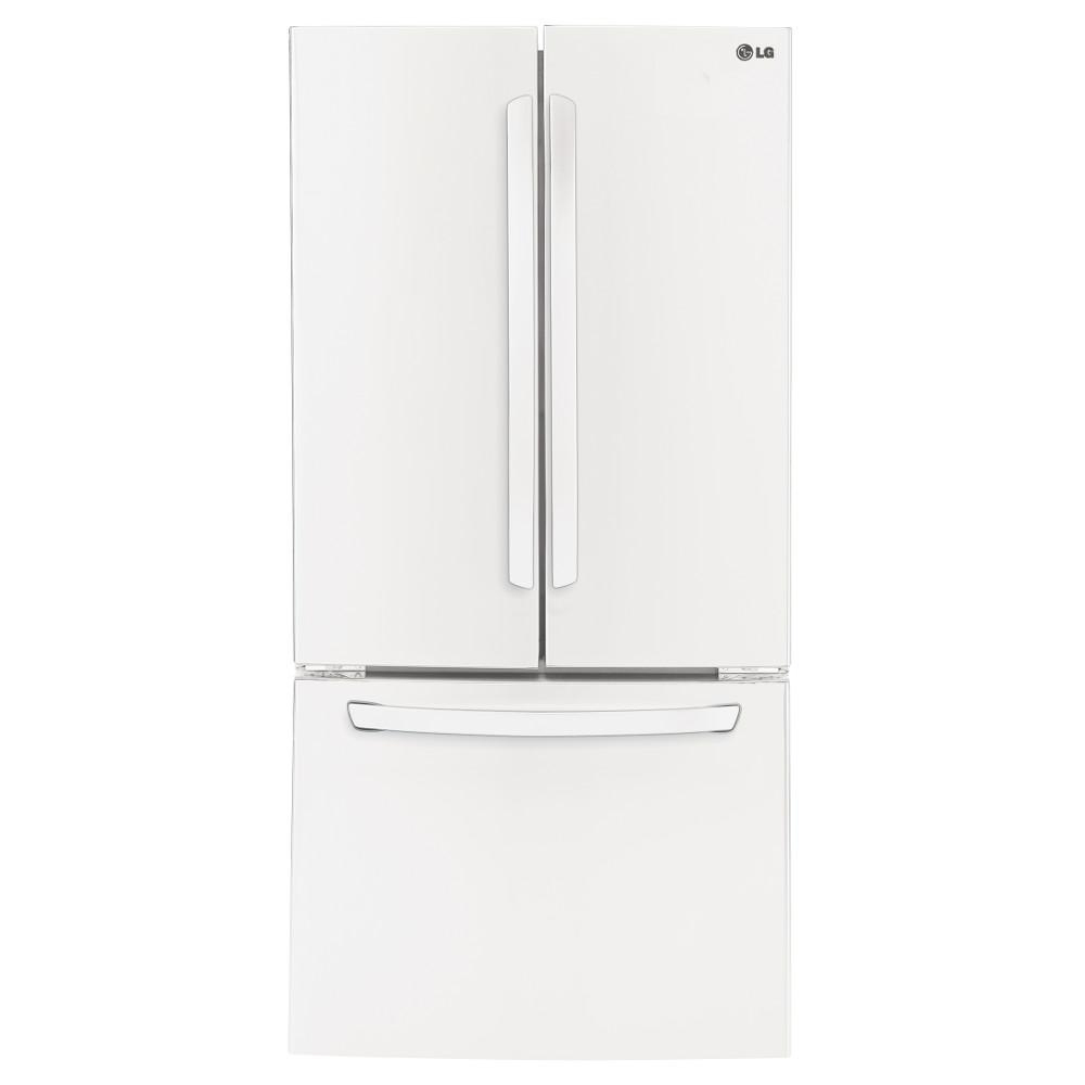 LG Appliances Bottom Freezer Refrigerators 24 Cu.Ft. Ultra-Large Capacity Refrigerator - Item Number: LFC24770SW