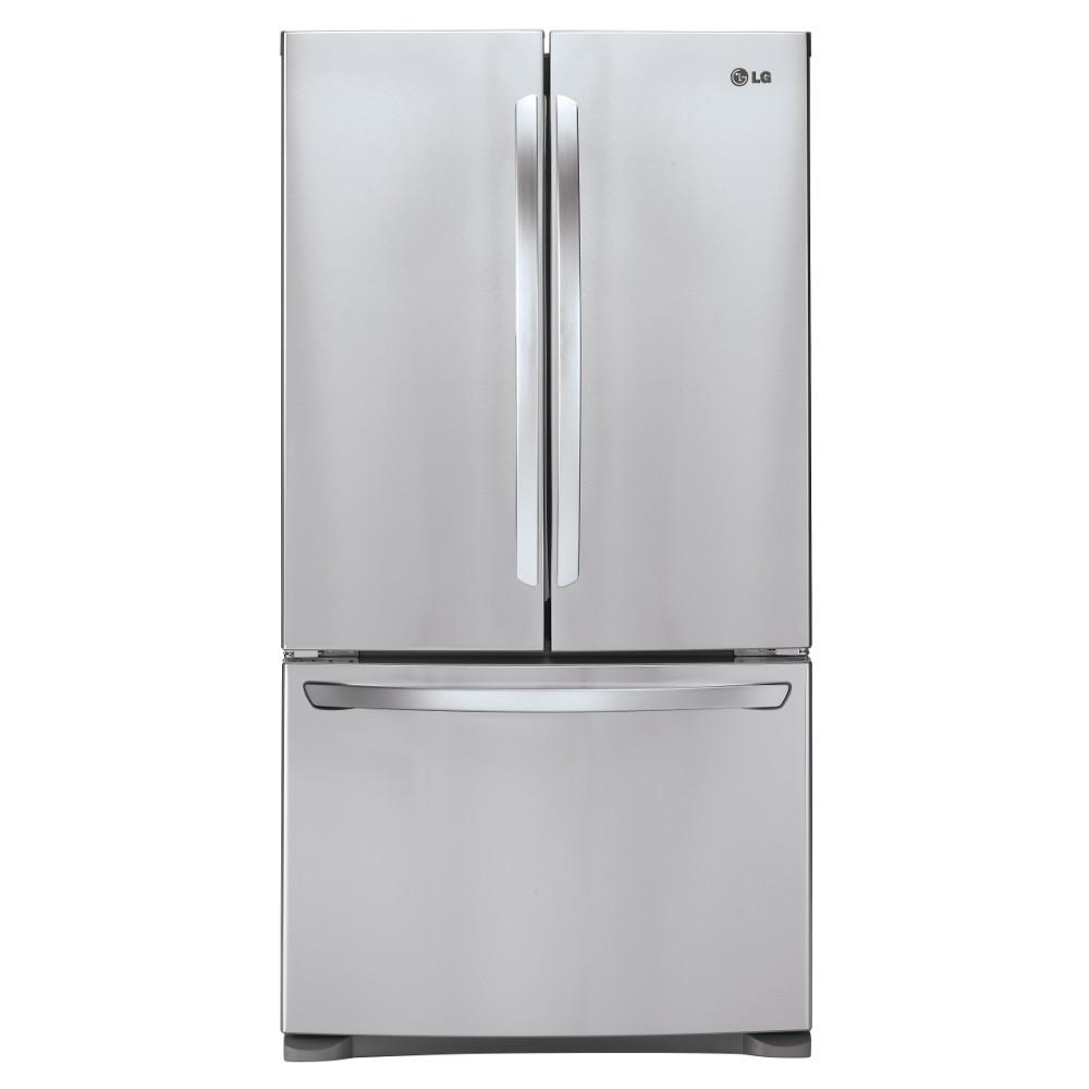 LG Appliances Bottom Freezer Refrigerators 28 Cu.Ft. Ultra-Large Capacity Refrigerator - Item Number: LFC28768ST
