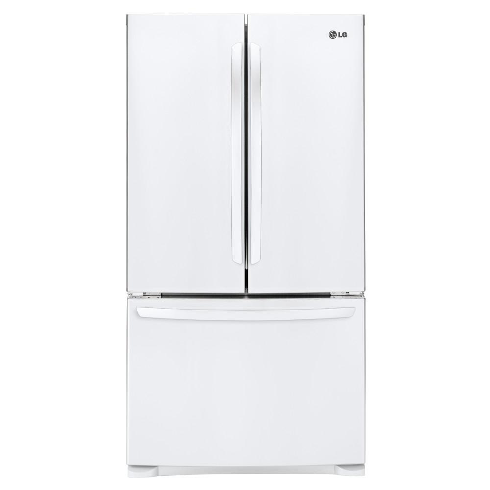 LG Appliances Bottom Freezer Refrigerators 28 Cu.Ft. Ultra-Large Capacity Refrigerator - Item Number: LFC28768SW
