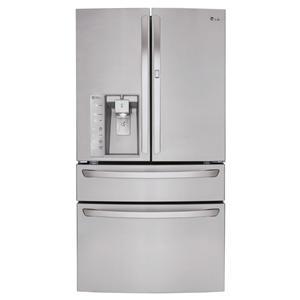 LG Appliances Bottom Freezer Refrigerators 30 Cu.Ft. Super Capacity Refrigerator