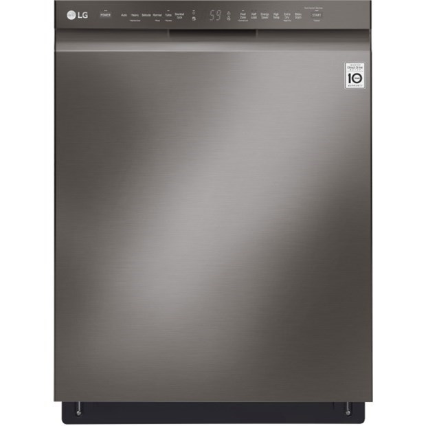 Lg Appliances Ldf5545bd Front Control Dishwasher With