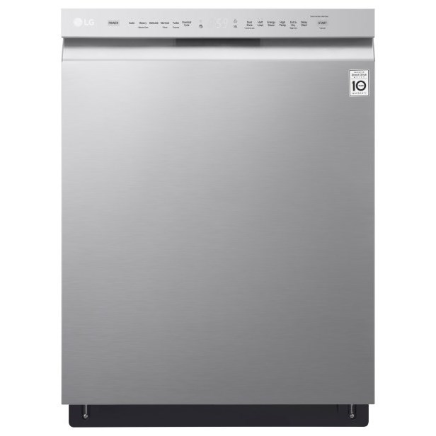 Lg Appliances Ldf5545stfront Control Dishwasher With Quadwash And Easyrack Plus Furniture