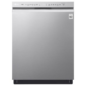 LG Appliances Dishwashers Front Control QuadWash™ Dishwasher