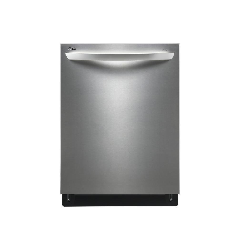 "LG Appliances Dishwashers 24"" Built-In Tall Tub Dishwasher - Item Number: LDF8764ST"
