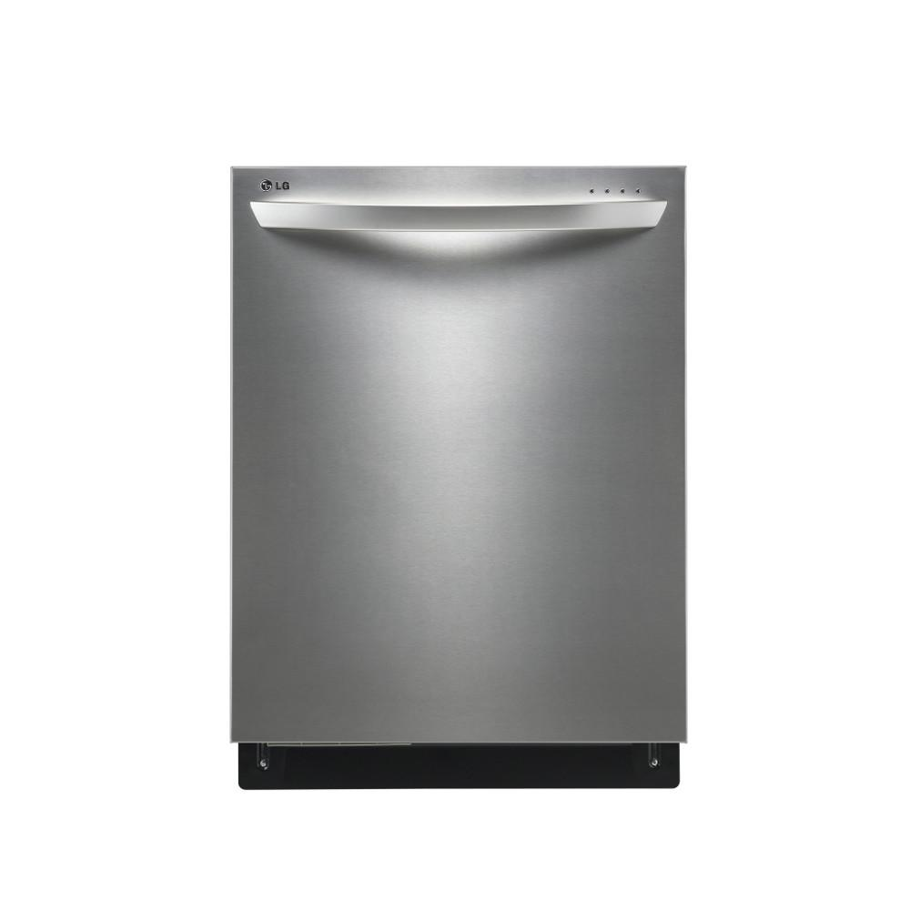 "LG Appliances Dishwashers 24"" Built-In Tall Tub Dishwasher - Item Number: LDF8874ST"
