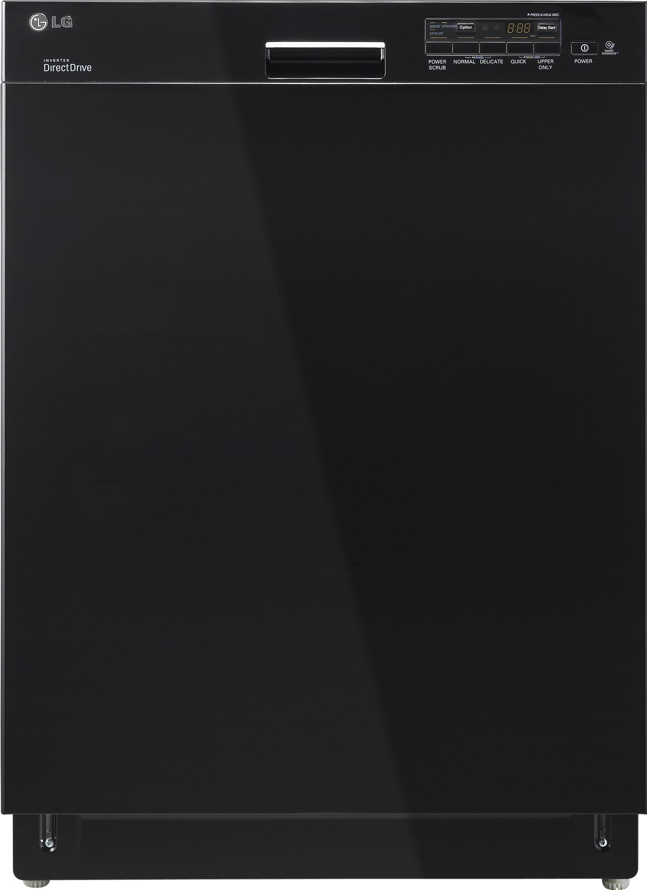 """LG Appliances Dishwashers 24"""" Built-In Dishwasher - Item Number: LDS5040BB"""