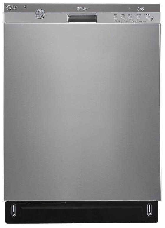 "LG Appliances Dishwashers 24"" Built-In Tall Tub Dishwasher - Item Number: LDS5774ST"