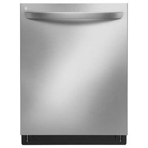 LG Appliances Dishwashers Top Control QuadWash? Dishwasher