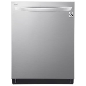 LG Appliances Dishwashers Top Control Wi-Fi Enabled Dishwasher