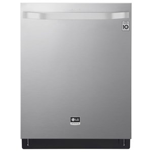 LG STUDIO Top Control Smart wi-fi Enabled Dishwasher with QuadWash™
