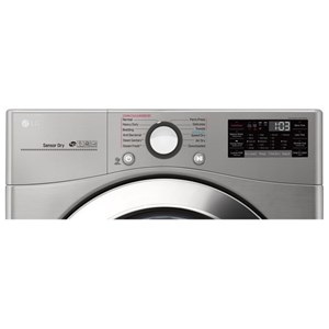 LG Appliances Dryers 7.4 cu. ft. Smart Electric SteamDryer?