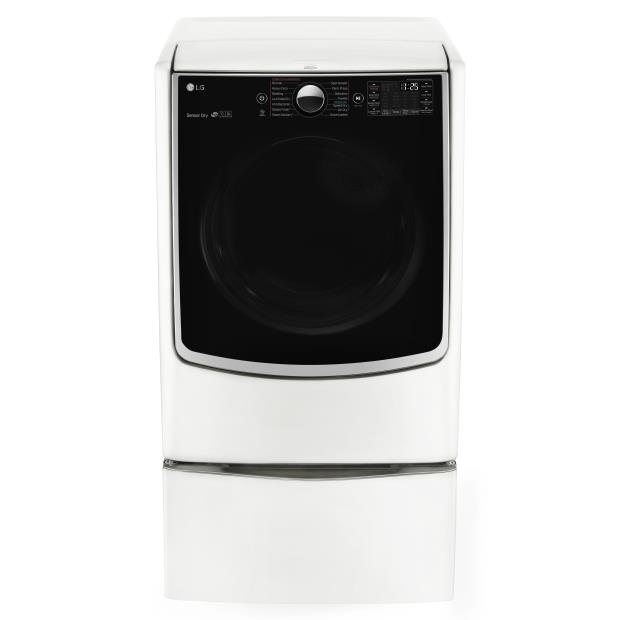 LG Appliances Dryers 7.4 Cu. Ft. Capacity Electric Dryer - Item Number: DLEX5000W