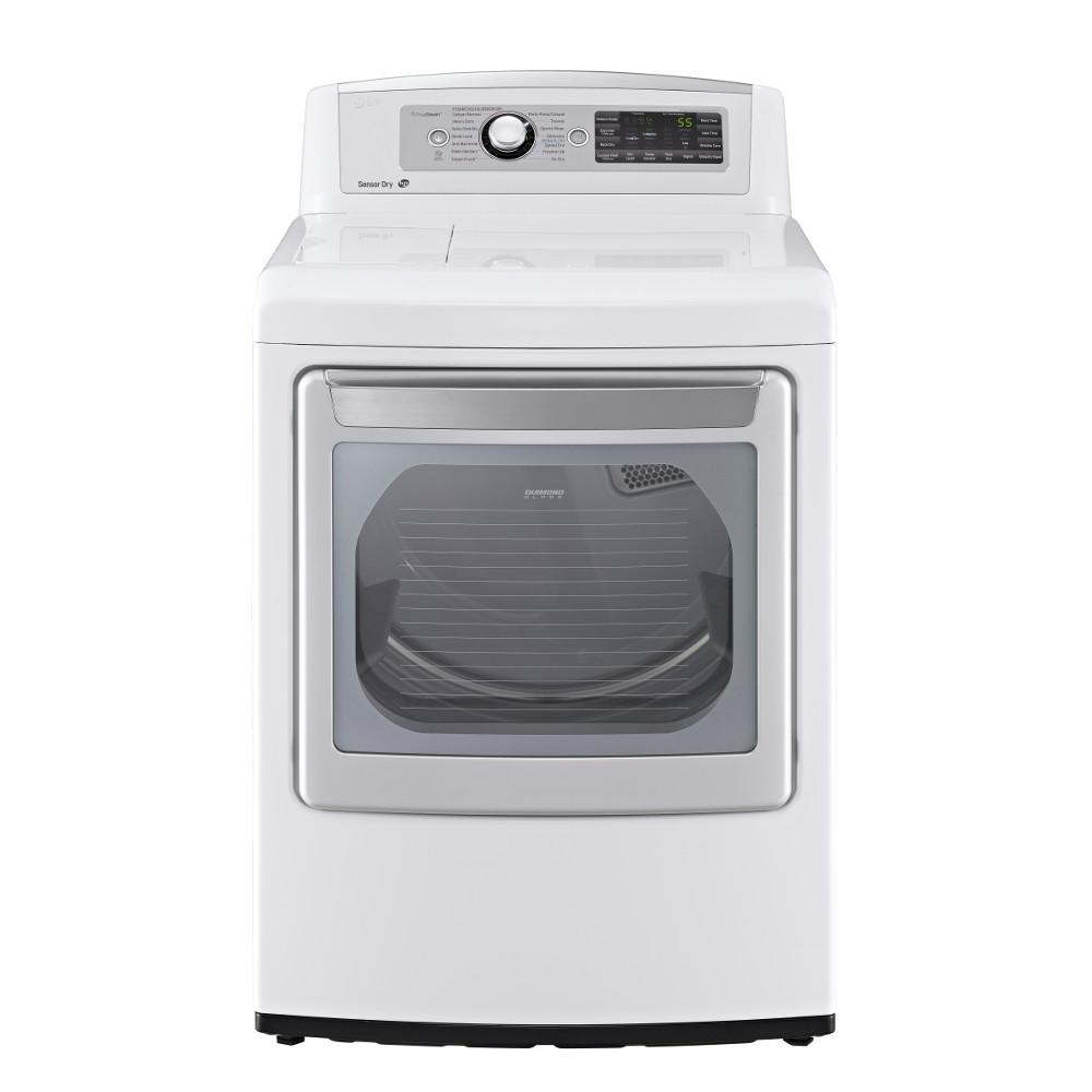 LG Appliances Dryers 7.3 Cu. Ft. Front-Load Electric Dryer - Item Number: DLEX5680W