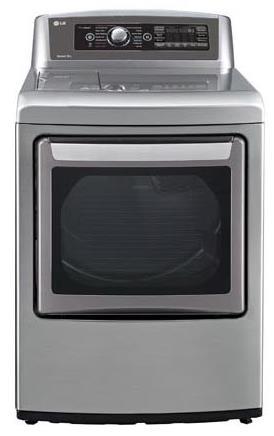 LG Appliances Dryers 7.3 cu.ft. Ultra Large SteamDryer™ - Item Number: DLEX5780VE