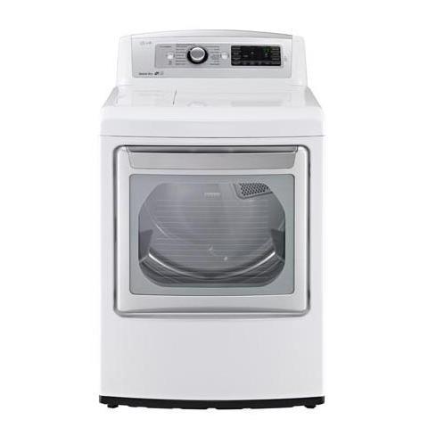 LG Appliances Dryers 7.3 cu.ft. Ultra Large SteamDryer™ - Item Number: DLEX5780WE