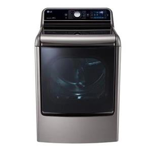 LG Appliances Dryers 9.0 Cu. Ft. Capacity Electric Steam Dryer