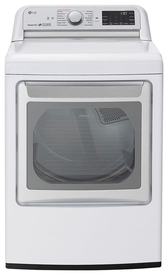 Dryers 7.3 CF SMART DRYER by LG Appliances at Furniture Fair - North Carolina